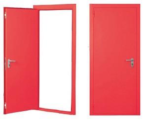 металлические пожаробезопасные двери