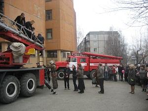 План действий при пожаре
